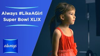 Always #LikeAGirl - Super Bowl XLIX