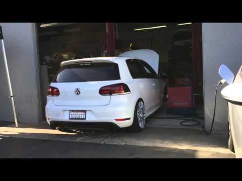 VW GTI Mk6 - Stage 2 - Dyno Day at AU Tuning