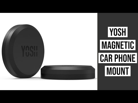YOSH Car Phone Mount For Dashboard | Magnetic Car Phone Holder Mount