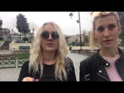 A trip to Istanbul-Part I - Diana and Danka from Serbia