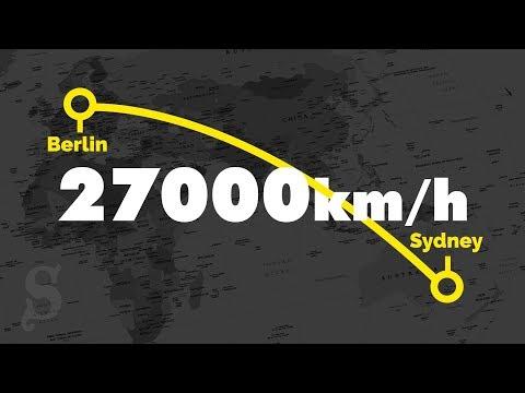 Von Berlin nach Sydney in 90 Minuten