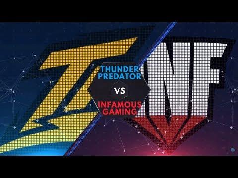 Infamous vs Thunder Predator - LPG: CAST Ndree & Patrick