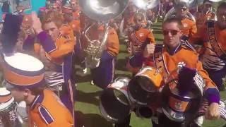 Clemson University Drumline: Carolina Panthers Halftime Trip