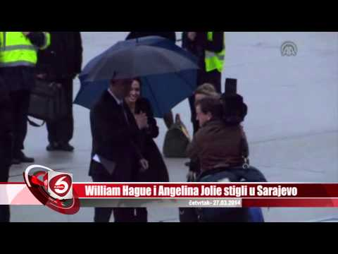 William Hague i Angelina Jolie stigli u Sarajevo