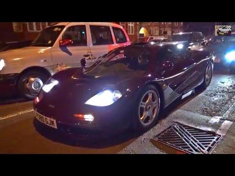 Mr Bean S Mclaren F1 On London Streets Youtube