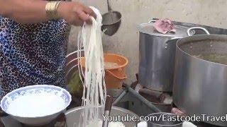 Pho Bo Beef noodle soup Vietnamese street food