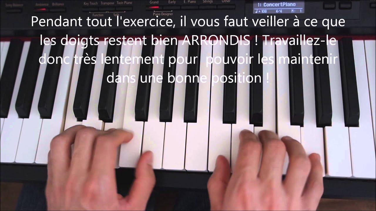 Leçon de piano : exercice du Trémolo - YouTube