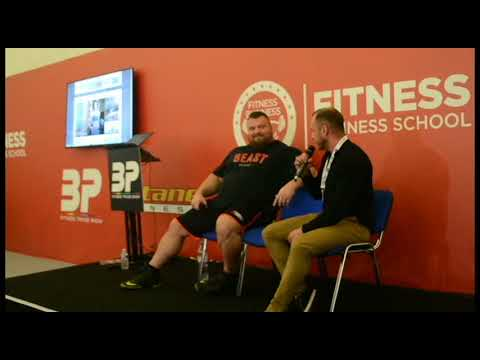 Eddie Hall (THE BEAST) - Talking about his DNA with MUHDO
