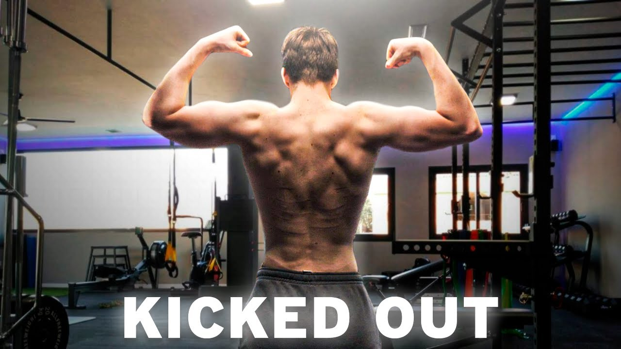 Getting Kicked Out of my Gym | Intense Back Workout | Skinny Kid Bulking Up