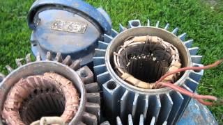 №4 насос БЦ 1,1-18 (часть 2) ремонт выбор эксплуатация электродвигатель