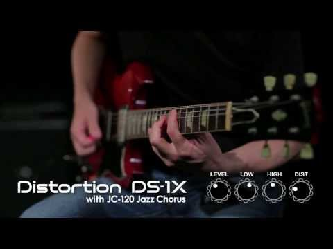 DS-1X Distortion Demonstration [BOSS Sound Check]