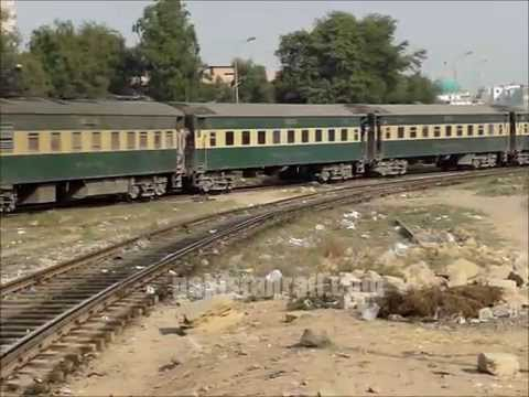 Pakistan Railways Business Train reaches Karachi from Lahore.