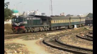 Pakistan Railways Business Train reaches Karachi from Lahore.
