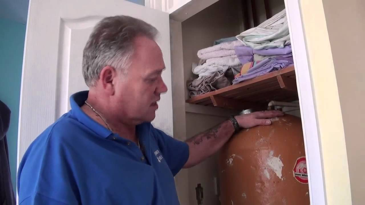Water and Plumbing Tutorial Part 7  Hot Water Cylinder