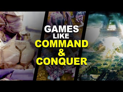 9 Games Like Command And Conquer