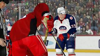 NHL 2003 - 2002 - Russia VS United States (PC)