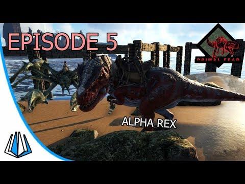 Alpha Rex & Apex Karkinos! - ARK: Primal Fear #EP5