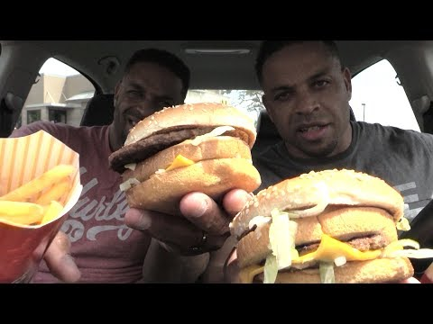 Eating Cheat Meal at Detroit McDonald's @Hodgetwins