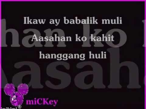 Maghihintay ako sayo by Alain Echem(Lyrics)