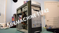 Garage Sale Finds: $5 Emachine T1742 Overview, Inside Look, and Test