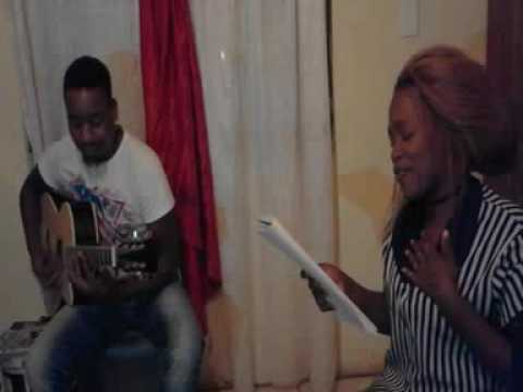 Rehearsal with Nathi and October