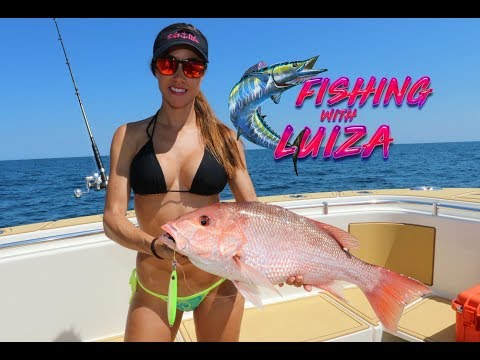 FISHING With Luiza Offshore JIGGING
