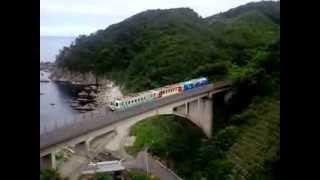 2013年7月15日あまちゃん ロケ地 を旅した時立ち寄った 堀内大橋。 三陸...