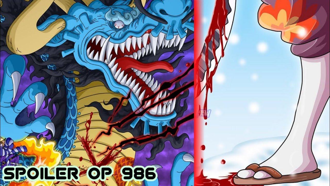 Spoiler One Piece 986 Edannn Akhirnya Ada Yang Bisa Melukai Kaido Setelah Oden Youtube