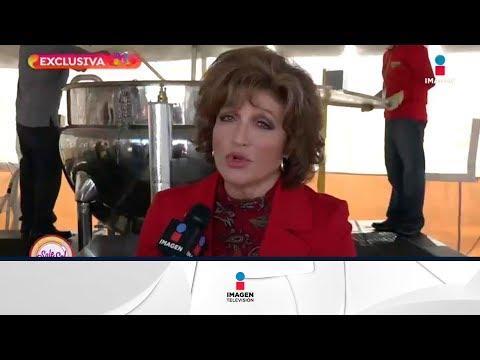 ¡Angélica María confirma que Angélica Vale padece influenza!   Sale el Sol