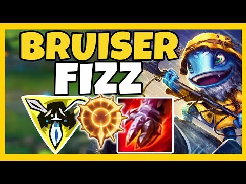 BRUISER FIZZ TOP IS BACK AND BETTER THAN EVER!  - League of Legends