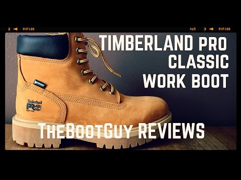 """TIMBERLAND PRO DIRECT ATTACH 6"""" SOFT TOE BOOTS STYLE 65030 [ The Boot Guy Reviews ]"""