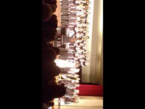 Morgan miller at Madras middle school concert