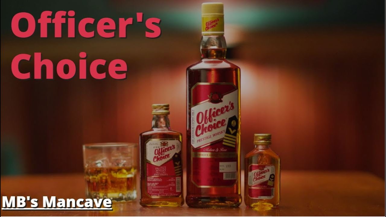 Officer's Choice Original Whisky Review in Hindi | Tetra Pack Whiskey |  #WhiskyWednesday