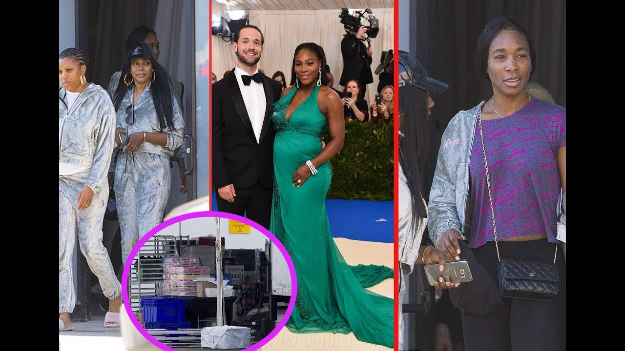 Prepare for the wedding of Serena Williams in New Orleans as tents ...
