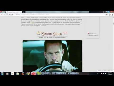 How to Download Furious 7 Without Torrent...