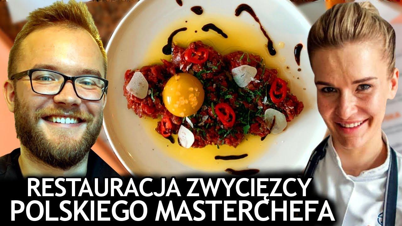 RESTAURACJA ZWYCIĘZCY MASTERCHEFA - Beata Śniechowska (Masterchef Polska) - Młoda Polska (Wrocław)