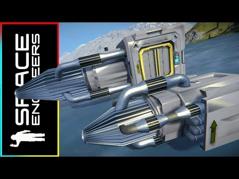 The Nanobot Drill And Fill System - Space Engineers