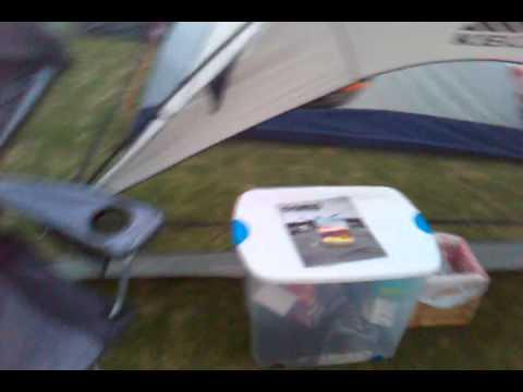 Coachella 2011 Car Camping Setup