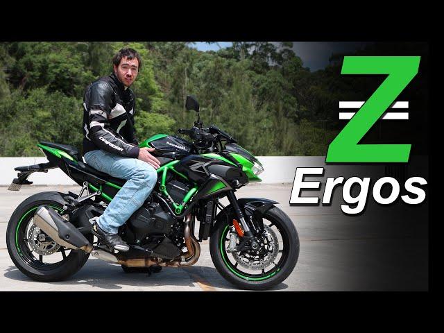 2021 Kawasaki Z H2 Ergonomics & Rider Fit