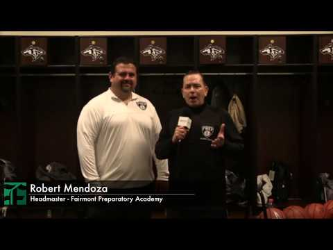 Huskies Boys Varsity Basketball - Headmaster Halftime Interview (Fairmont Preparatory Academy)