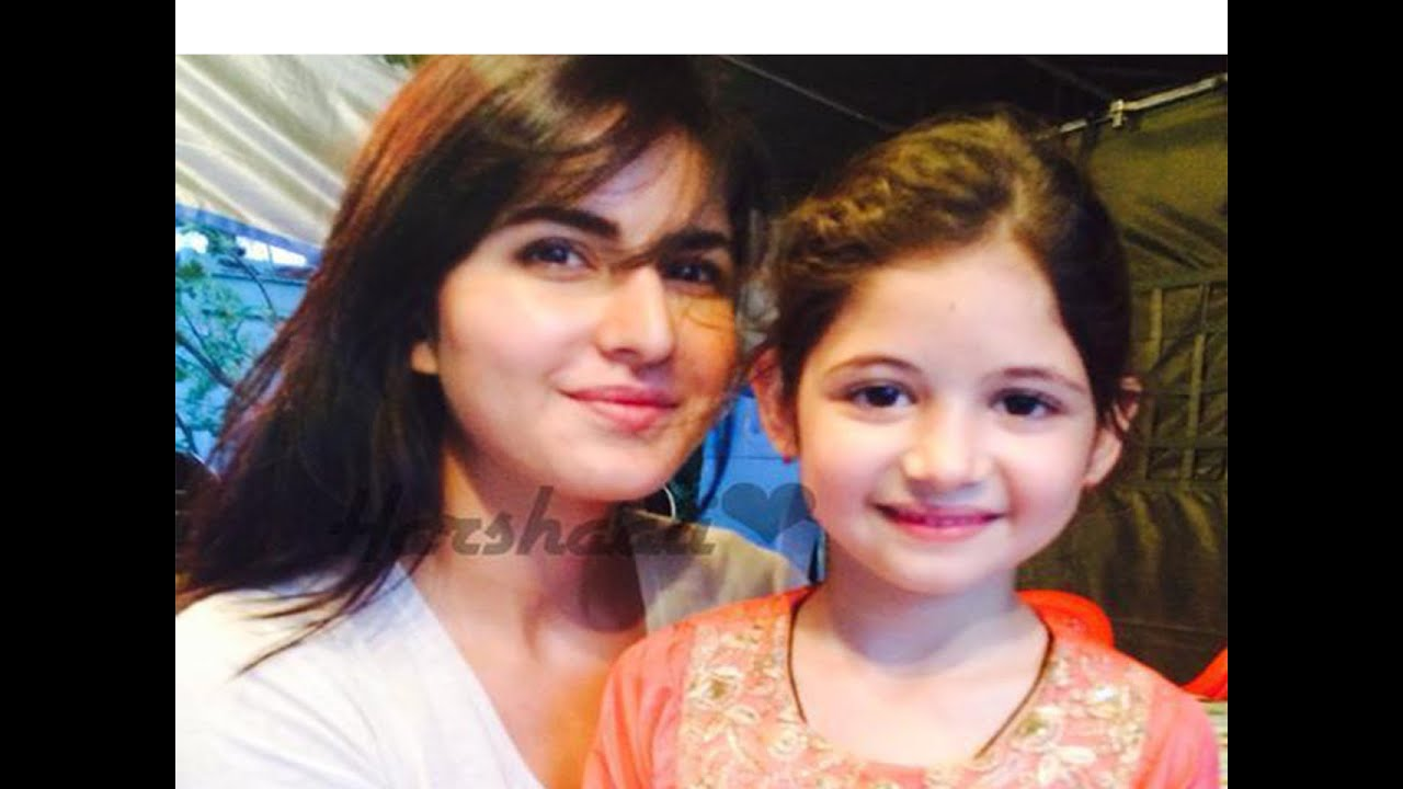 Katrina Kaif Sees her Childhood in Harshaali Malhotra ...