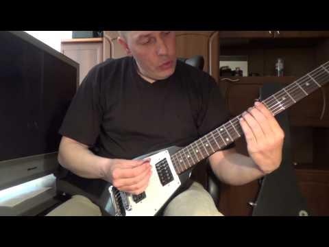 Как играть и куда втыкать флажолеты - Урок для начинающих гитаристов №5