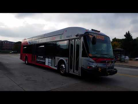 Washington DC area transit buses and trains! compilation #2 September 2017