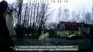 Девушка и пешеходы ДТП! Авария! Видеорегистратор(, 2014-04-24T22:20:43.000Z)