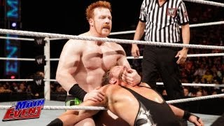 Sheamus vs. Jack Swagger: WWE Main Event, July 24, 2013