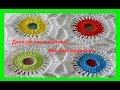 Поделки - Двухцветные мотивы, вязание крючком,1 ч crochet motifs(узор № 181)