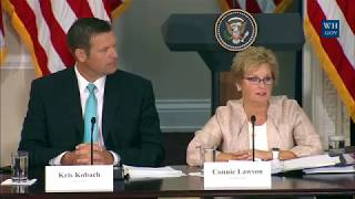 FULL: Vice President & President Donald Trump Presidential Advisory Commission on Election Integrity