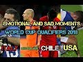 World Cup Qualifiers 2018 ● emotional moments