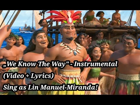 Moana - We Know The Way (Instrumental)
