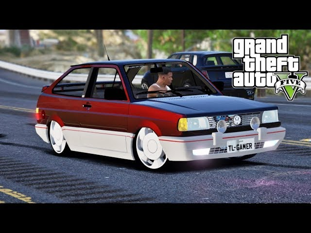 GTA V MODS - GOL GTS TURBO 1.8 DE ORBITAL - TL GAMER -
